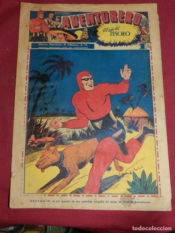 (M2) AVENTURERO NUM 1 - EDITORIAL HISPANO AMERICANA, SEÑALES DE USO (Tebeos y Comics - Hispano Americana - Aventurero)