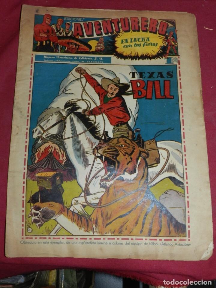 (M2) AVENTURERO NUM 6 - EDITORIAL HISPANO AMERICANA, SEÑALES DE USO (Tebeos y Comics - Hispano Americana - Aventurero)