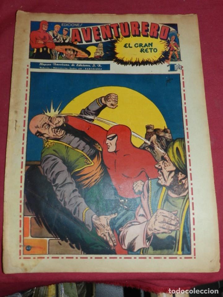 (M2) AVENTURERO NUM 7 - EDITORIAL HISPANO AMERICANA, SEÑALES DE USO CON ROTURITAS (Tebeos y Comics - Hispano Americana - Aventurero)