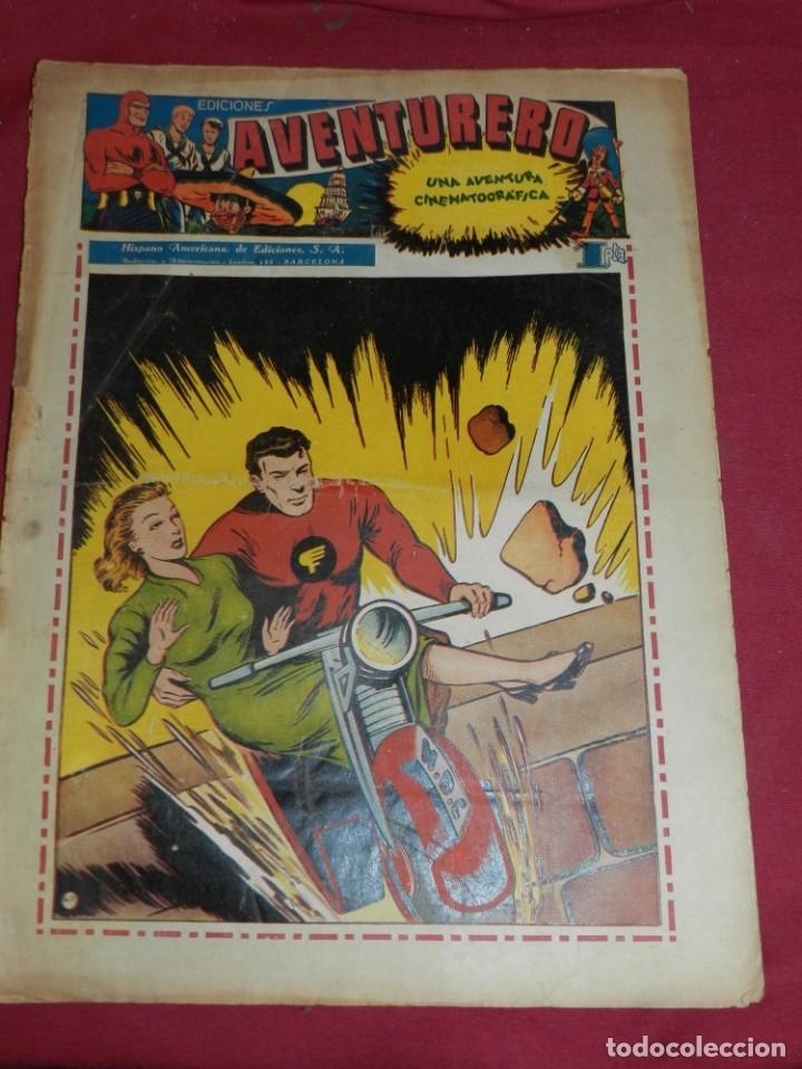(M2) AVENTURERO NUM 9 - EDITORIAL HISPANO AMERICANA, SEÑALES DE USO CON ROTURITAS (Tebeos y Comics - Hispano Americana - Aventurero)