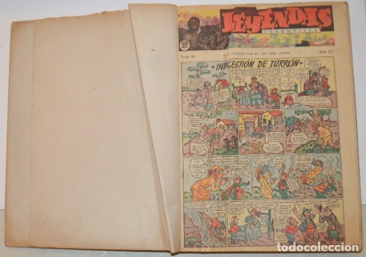 LEYENDAS INFANTILES - DEL 84 AL 182 - COMPLETO EN 2 TOMOS - IMPECABLES (Tebeos y Comics - Hispano Americana - Leyendas Infantiles)