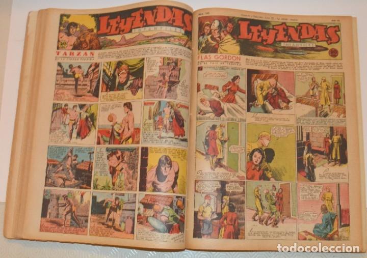 Tebeos: LEYENDAS INFANTILES - DEL 84 AL 182 - COMPLETO EN 2 TOMOS - IMPECABLES - Foto 11 - 180910133
