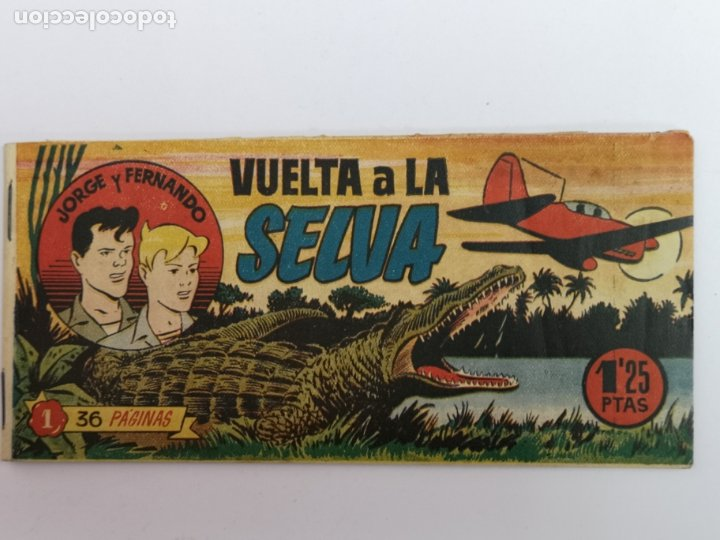 JORGE Y FERNANDO HISPANO AMERICANA N°1 (Tebeos y Comics - Hispano Americana - Jorge y Fernando)