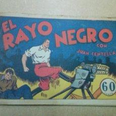 Tebeos: JUAN CENTELLA Nº 31 EL RAYO NEGRO - HISPANO AMERICANA. Lote 181549521