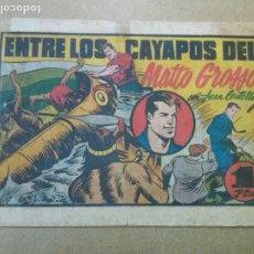 Tebeos: JUAN CENTELLA Nº 114 ENTRE LOS CAYAPOS DEL MATTO GROSSO - HISPANO AMERICANA. Lote 181549815