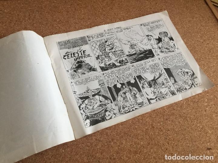Tebeos: CARLOS EL INTREPIDO - EL CELESTE IMPERIO - HISPANO AMERICANA - FACSIMIL - GCH - Foto 2 - 181713898