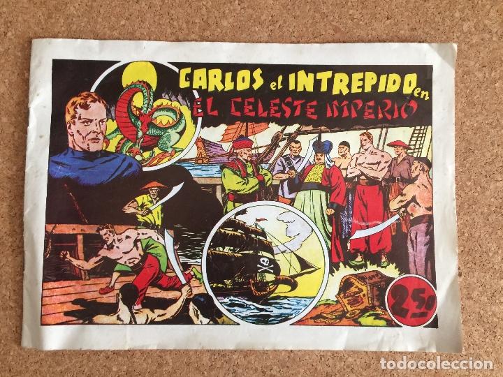 CARLOS EL INTREPIDO - EL CELESTE IMPERIO - HISPANO AMERICANA - FACSIMIL - GCH (Tebeos y Comics - Hispano Americana - Carlos el Intrépido)