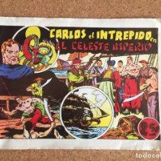 Tebeos: CARLOS EL INTREPIDO - EL CELESTE IMPERIO - HISPANO AMERICANA - FACSIMIL - GCH. Lote 181713898