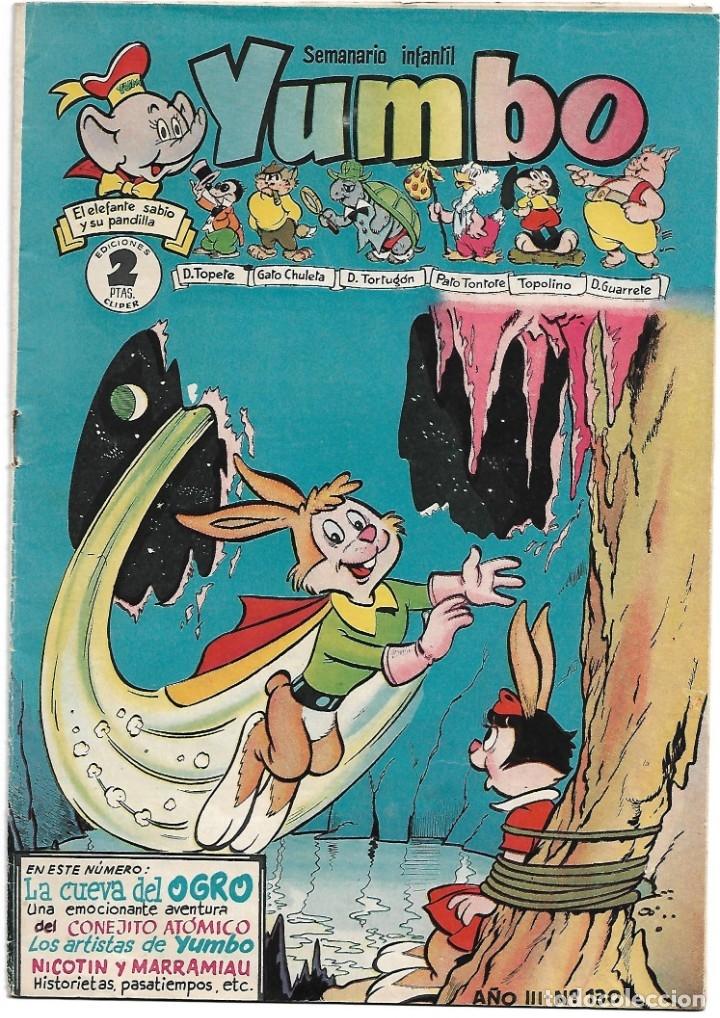 YUMBO Nº 130, ORIGINAL DE H. AMERICANA 1953, BUEN ESTADO - VER Y LEER TODO (Tebeos y Comics - Hispano Americana - Yumbo)