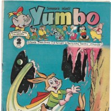 Tebeos: YUMBO Nº 130, ORIGINAL DE H. AMERICANA 1953, BUEN ESTADO - VER Y LEER TODO. Lote 181898465