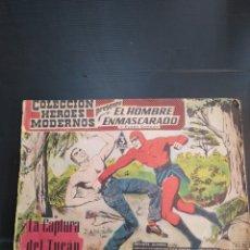 Tebeos: CÓMIC EL HOMBRE ENMASCARDO Y FLASH GORDON ORIGINAL 1958. Lote 181998235