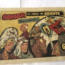 Tebeos: CARLOS, EL INTRÉPIDO - SAMAR, LA PERLA DE ORIENTE. Lote 182021001