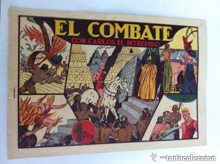 CARLOS EL INTRÉPIDO - (EL COMBATE) - MUY BIEN CONSERVADO (Tebeos y Comics - Hispano Americana - Carlos el Intrépido)