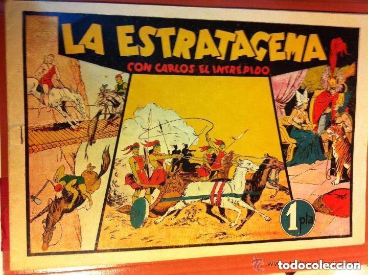 CARLOS EL INTRÉPIDO - (LA ESTRATAGEMA)- MUY BIEN CONSERVADO (Tebeos y Comics - Hispano Americana - Carlos el Intrépido)