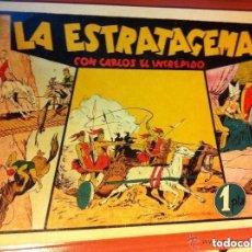Tebeos: CARLOS EL INTRÉPIDO - (LA ESTRATAGEMA)- MUY BIEN CONSERVADO. Lote 182021888