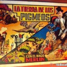 Tebeos: MERLIN - LA TIERRA DE LOS PIGMEOS- EXCELENTE CONSERVACIÓN. Lote 182024918