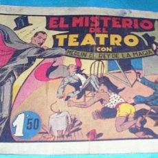 Tebeos: MERLIN EL REY DE LA MAGIA Nº 10 EL MISTERIO DEL TEATRO, ORIGINAL H.AMERICANA - LEER. Lote 182041338