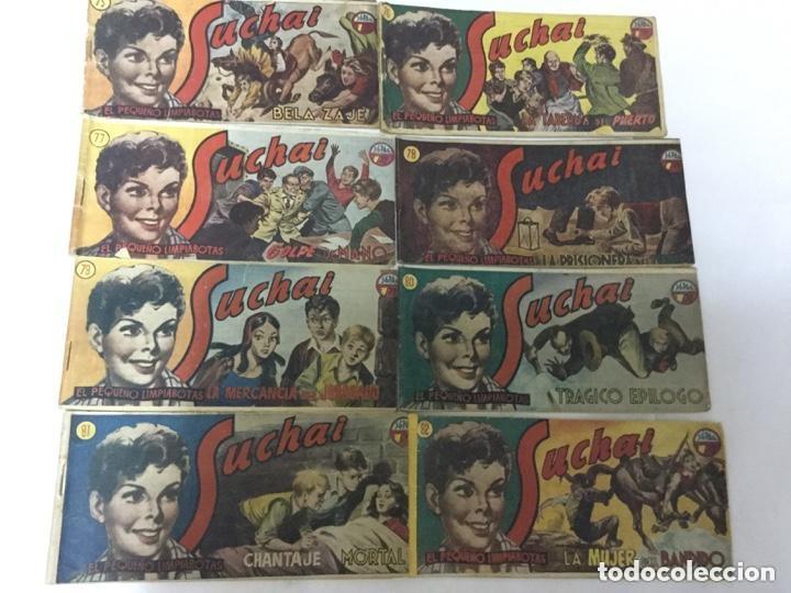 SUCHAI- LOTE DE 8 EJEMPLARES - NUM. 75 AL 82 (Tebeos y Comics - Hispano Americana - Suchai)