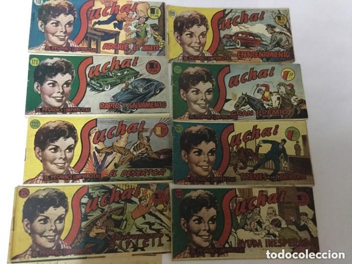 SUCHAI- LOTE DE 8 EJEMPLARES - NUM. 118 AL 125 (Tebeos y Comics - Hispano Americana - Suchai)