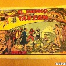 Tebeos: TARZAN - EL ENEMIGO DE .. (PICO REPARADO. Lote 182061625