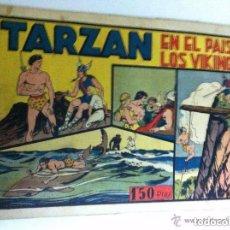 Tebeos: TARZÁN - EN EL PAIS DE LOS VIKINGOS. Lote 182062161