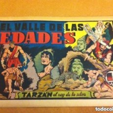 Tebeos: TARZAN - EL VALLE DE LAS EDADES -LOMO ABIERTO. Lote 182062393