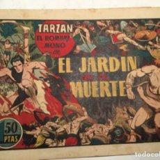 Tebeos: TARZAN - EL JARDIN DE LA MUERTE- MUY BIEN CONSERVADO. Lote 182562013