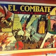 Tebeos: CARLOS EL INTRÉPIDO - EL COMBATE- MUY BIEN CONSERVADO. Lote 182564821