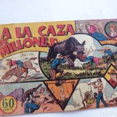 Tebeos: JORGE Y FERNANDO Nº 4 A LA CAZA DE MILLONES HISPANO AMERICANA 1940 ORIGINAL. Lote 182576250