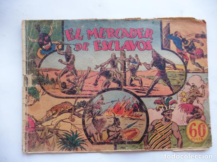 JORGE Y FERNANDO Nº 9 EL MERCADER DE ESCLAVOS HISPANO AMERICANA 1940 ORIGINAL (Tebeos y Comics - Hispano Americana - Jorge y Fernando)
