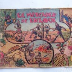 Tebeos: JORGE Y FERNANDO Nº 9 EL MERCADER DE ESCLAVOS HISPANO AMERICANA 1940 ORIGINAL. Lote 182576353