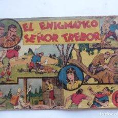 Tebeos: JORGE Y FERNANDO Nº 13 EL ENIGMATICOO DEÑOR TREBOR HISPANO AMERICANA 1940 ORIGINAL. Lote 182576667