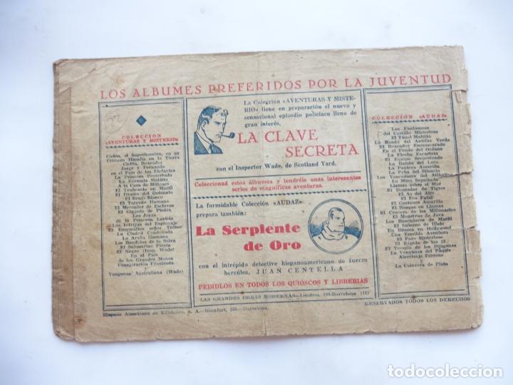 Tebeos: JORGE Y FERNANDO Nº 22 EL TRAIDOR DE LA PATRULLA AMERICANA 1940 ORIGINAL - Foto 2 - 182577073