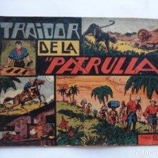 Tebeos: JORGE Y FERNANDO Nº 22 EL TRAIDOR DE LA PATRULLA AMERICANA 1940 ORIGINAL. Lote 182577073