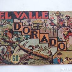 Tebeos: JORGE Y FERNANDO Nº 30 EL VALLE DORADO AMERICANA 1940 ORIGINAL. Lote 182577267