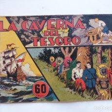Tebeos: JORGE Y FERNANDO Nº 33 LA CAVERNA DEL TESORO AMERICANA 1940 ORIGINAL. Lote 182577402