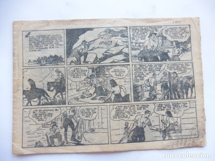 JORGE Y FERNANDO Nº 34 LA COMARCA INEXPLORADA AMERICANA 1940 ORIGINAL (Tebeos y Comics - Hispano Americana - Jorge y Fernando)