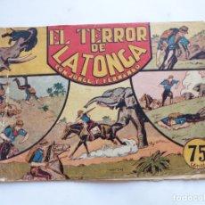 Tebeos: JORGE Y FERNANDO Nº 37 EL TERROR DE LA TONGA AMERICANA 1940 ORIGINAL. Lote 182578080