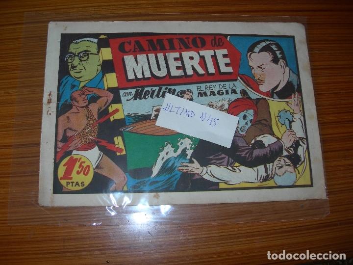 MERLIN Nº 45 EDITA HISPANO AMERICANA (Tebeos y Comics - Hispano Americana - Merlín)