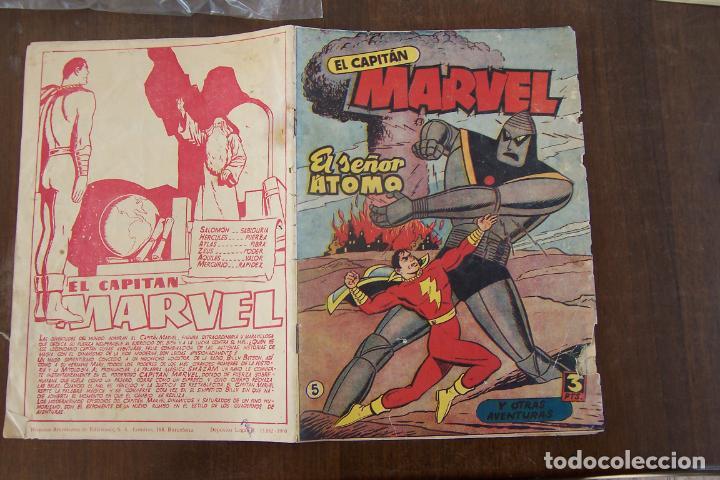 HISPANO AMERICANA,- CAPITAN MARVEL Nº 5 (Tebeos y Comics - Hispano Americana - Capitán Marvel)