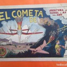 Tebeos: DANI EL AVIADOR N. 9 , EL COMETA DE ORO , HISPANO AMERICANA 1944, DETRAS BERTOL ATLETICO DE BILBAO. Lote 183439700