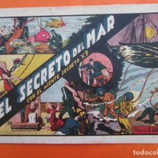 Tebeos: AGENTE SECRETO X-9 , Nº 6 - EL SECRETO DEL MAR - EDITORIAL HISPANO AMERICANA 1941. Lote 183516568