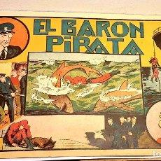Tebeos: EL BARON PIRATA *** EL HOMBRE ENMASCARADO ¡¡¡ COMIC ORIGINAL DE LA ÉPOCA !!!. Lote 183596493