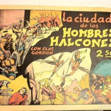 Tebeos: FLAS GORDON, LA CIUDAD DE LOS HOMBRES HALCONES ¡¡¡ ORIGINAL DE LA ÉPOCA !!!. Lote 183599591