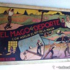 Tebeos: MERLIN- EL MAGO DEL DEPORTE - USADO. Lote 183659163