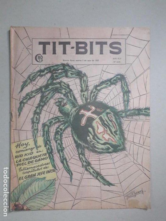 TIT BITS N° 2298 - EL GRAN JEFE INCA - HISTORIETA ORIGINAL ARGENTINA AÑO 1953 (Tebeos y Comics - Hispano Americana - Otros)