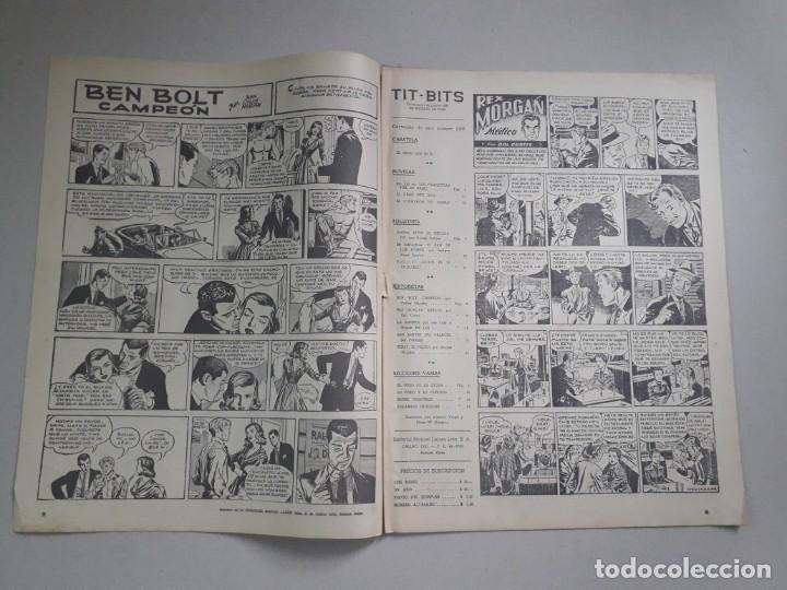 Tebeos: Tit Bits n° 2298 - El gran jefe inca - historieta original argentina año 1953 - Foto 2 - 184430451