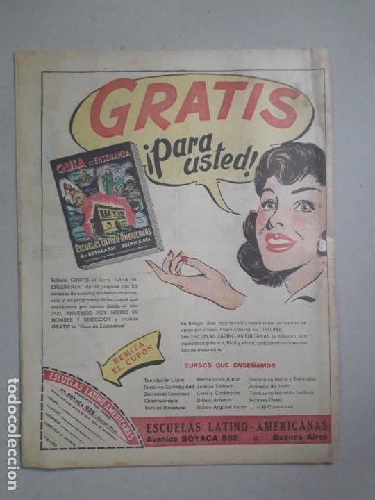 Tebeos: Tit Bits n° 2298 - El gran jefe inca - historieta original argentina año 1953 - Foto 5 - 184430451