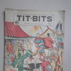 Tebeos: TIT BITS N° 2270 - MISIÓN EN CHINA - HISTORIETA ORIGINAL ARGENTINA AÑO 1952. Lote 184430837