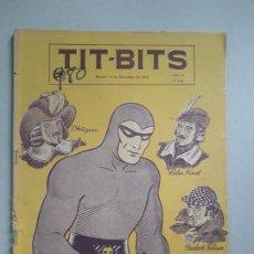 Tebeos: TIT BITS N° 2047 - LA SOMBRA - HISTORIETA ORIGINAL ARGENTINA AÑO 1948. Lote 184431801